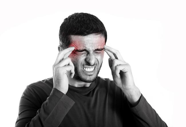 Bấm huyệt trị nhức đầu mà không cần dùng thuốc